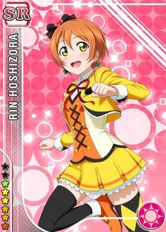 #623 Hoshizora Rin SR idolized