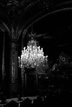 Chandelier, gothic/ victorian interior, decor