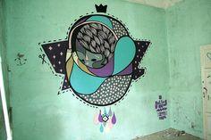 #streetart #goddog  Alone by - GoddoG -, via Flickr