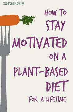 how to stay motivated on a plant-based diet for a lifetime #vegan #vegetarian #rawveganlifestyle