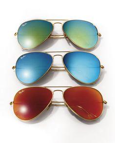 Ray-Ban Aviator Sunglasses via Neiman Marcus