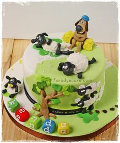 Shaun The Sheep Cake Cakes Kendajpg