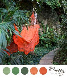 Pretty Palettes #58 - Earthy Wedding Colors