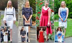 Fashion blogger Stephanie Albrecht, 27, from Vancouver, recreates Kate's most photographed looks at a fraction of the price and shares them online with her 11,000 Instagram followers.