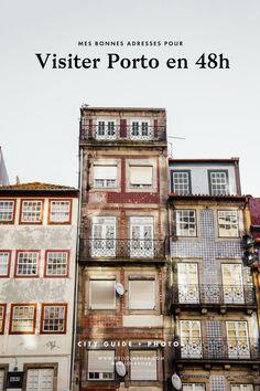 Visiter Portoen 48h chrono - Kaléidoscope de couleurs | via Helloraoux | 9 /06/2017 Visiter Porto, la deuxième ville du pays durant deux belles journées d'Avril. Après Lisbonne et sa région, j'avais très envie de remettre les pieds au Portugal, pays que je trouve si accueillant, photogénique et riche de sa culture. L'Europe est tellement belle et surprenante que je m'étonne toujours de ceux qui ne souhaitent pas davantage la découvrir et privilégient les longs courriers pour être « dépaysé…