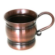 MarktSq Vintage Solid Copper Cocktail Mug Moscow Mule Cups, Copper Moscow Mule Mugs, Copper Mugs, Wine Glass Set, Mugs For Sale, Ginger Beer, Mugs Set, Cocktail, Vintage