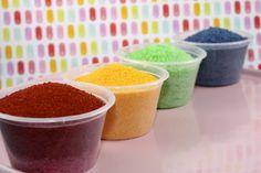 DIY Colored Sanding Sugar Sprinkles - Dollar Saver Ideas! • CakeJournal.com