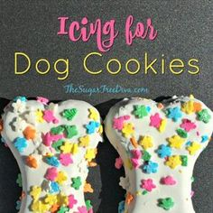 Make your homemade pet treats even more fun for your best friend. This is the recipe is for How to Make Icing for Dog Cookies.