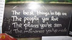 <3 the best things...