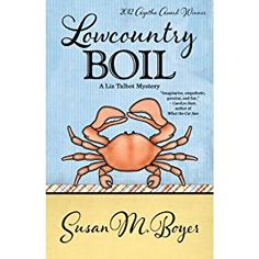 "Another must-listen from my #AudibleApp: ""Lowcountry Boil: A Liz Talbot Mystery"" by Susan M. Boyer, narrated by Loretta Rawlins."
