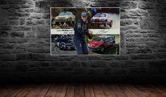 Colin McRae Canvass 60cmx40cm Colin Mcrae, Canvas, Prints, Tela, Canvases
