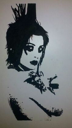 Brody Dalle, The Distillers, Punks Not Dead, Riot Grrrl, Room Posters, Dark Fantasy Art, My Chemical Romance, Back To Black, Drawing Reference