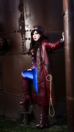Steampunk Wonder Woman - Imgur