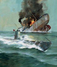 Los U-Boot alemanes.