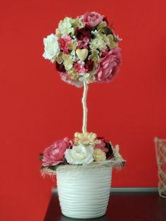 Kvetinová dekorácia / Flower ball decoration