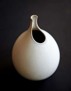 Studio Vase by Stig Lindberg ca. Ceramic Pitcher, Ceramic Jars, Ceramic Tableware, Ceramic Pottery, Flower Places, Stig Lindberg, Vases For Sale, Pottery Designs, Design Crafts