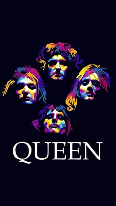 """Wallpaper inspired in rock band """"Queen"""" Band Wallpapers, Cool Wallpapers For Phones, Queen Banda, Musik Wallpaper, Iphone Wallpaper Nerd, Rock And Roll, Rainha Do Rock, Rock Band Posters, Queen Poster"""