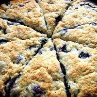 Bisquick Blueberry Scones - 3 cups Bisquick, 2 tbsp. Sugar, 1 cup fresh or…