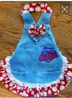 Cute overall dress!