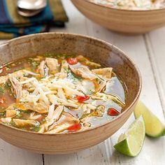 Chipotle Chicken Tortilla Soup - Cook's Country