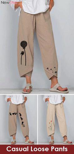 Vintage Plus Size Pants. Vintage Plus Size Pants. Vintage Plus Size Pants. Fashion Pants, Diy Fashion, Fashion Outfits, Plus Fashion, Womens Fashion, Fashion Vintage, Plus Size Vintage, Easy Clothing, Size Clothing
