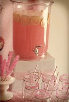 Pretty In Pink Birthday Party #prettyinpink #birthday #party #decorations #pink