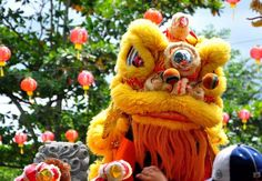 Lion Dance, Chinese New Year, Teddy Bear, Toys, Character, Animals, Art, Chinese New Years, Activity Toys