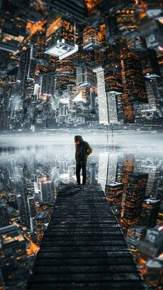 Man and City Wallpaper The post Mensch und Stadt Wallpaper appeared first on Jasmine Lambrick.