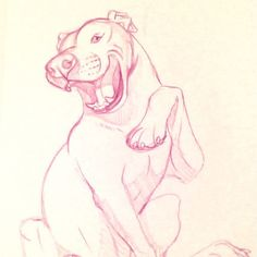 Happy pittie is happy! Sketching more and more lately. Making time for it and committing to sketching as much as I worked on commissions for the past few months. I'm looking forward to next week where I am hoping to start a video series following my foray into doing personal art. I'm excited! . . . . . #art #artwork #illustration #instaart #wip #artist #artistic #artofinstagram #artsagram #artworld #drawing #sketch #sketchbook #pencil #artsy #pitbull  #pittie #creative #pitties #pittiesofig…