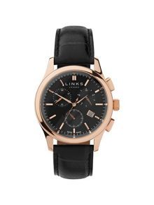 Links of London  Regent Black Dial Chronograph Watch £750.00 #TopSale #want #ClothingSale