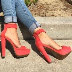 Coral Chunky Platforms