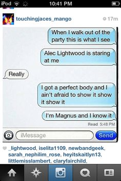 Found this on Instagram and I loved it sooo much it works so perfectly for Malec