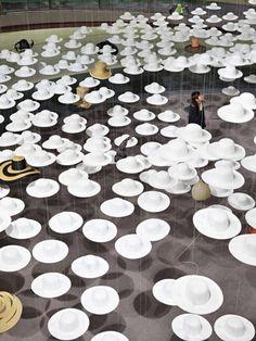 hats #art #instalation