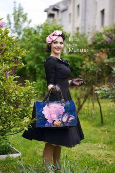 Éden utazótáska Burlesque, Pin Up, Retro, Bags, Color, Vintage, Fashion, Handbags, Colour