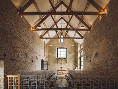 Couples can celebrate their special day within Merriscourt's atmospheric barns. #weddingvenues #rusticwedding #barnwedding #cotswoldwedding