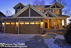 This would be my dream home. I would do without the basement and another single car garage. 3700sq ft 4bed