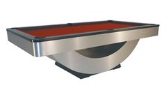 Modern Series : Modern Pool Tables : Metal Pool Table : Billiard MFG