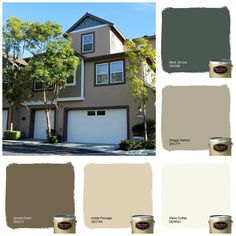 Another Beautiful Color Scheme That Our Crew Painted At Branches In Ladera Ranch Don Dunn Edwards Colorsdunn Paintexterior Paint Schemeterior