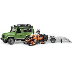 Land Rover Arazi Aracı & Kar Aracı Ve B World Adam Figürü - 02594
