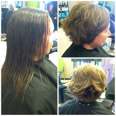 Razor cut stacked bob by Jamie at Avantgarde Salon & Spa in Grand Rapids, MI #razorcut #bob