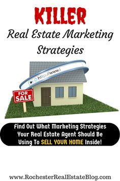 What Real Estate Marketing Strategies Should My Realtor Be Using - Find Out Inside - http://www.rochesterrealestateblog.com/what-real-estate-marketing-strategies-should-my-agent-be-using/ via @KyleHiscockRE