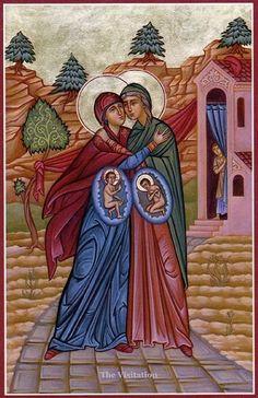 la visitacion isabel maria