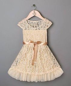 Ivory Lace Toddler Girl Dress - Easter Toddler Dress - Vintage - Easter Girl Dress - Flower girl Dress, Sun Dress Toddler - Photo Shoot by MJfordiva on Etsy Beige Lace Dresses, Girls Lace Dress, Baby Dress, Flower Girl Dresses, Flower Girls, Baby Flower, Dress Girl, Toddler Girl Dresses, Little Girl Dresses