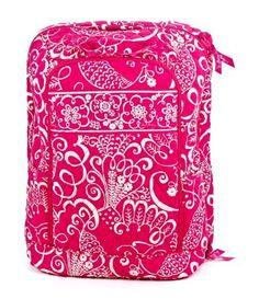Vera Bradley Laptop Backpack in Twrily Birds Pink Vera Bradley. $89.99
