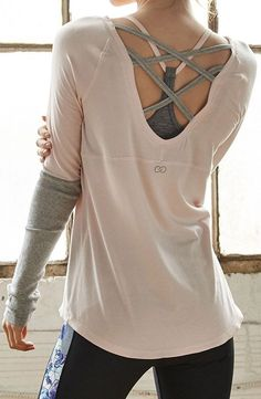 Style and comfort meet with the CALIA™ by Carrie Underwood Women's Cross Back Long #doputitingear