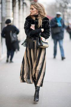 Olivia Palermo at Paris Couture Fashion Week