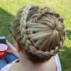 50 Sumptuous Crown Braid Styles — Destined to Be Adored