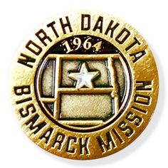 North DakotaBismarck LDS Mission Pin