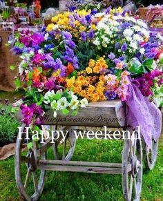 Estilo Kate Middleton, Flanders Field, Flower Cart, Terrarium Diy, Happy Weekend, Doorway, Creative Design, Good Morning, Beautiful Flowers