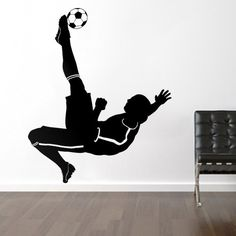Soccer Football Player - Sports - Wall Decals Stickers